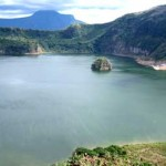 innerlake of the taal volcano in batangas philippines