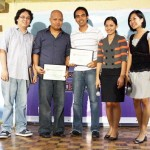 Awarding of Certificates to Speakers