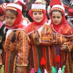 children in national costume