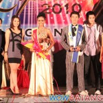 Mr. and Miss Lyceum 2010 4th Runners-Up - Michal Bagui and Ge Lopez