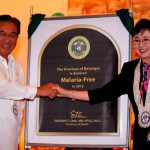 Governor Vi and DOH Secretary Ona, Batangas is Malaria Free