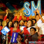 Volce Choir singing 12 Days of Christmas at SM Supermalls