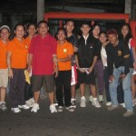 Brgy. Capt. Danilo Perez & SK Chair. Brian Soriano of Poblacion and staff