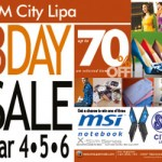 SM Lipa 3 Day Sale March 4-6, 2011