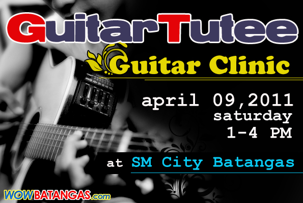 guitar tutee : guitar clinic 2011