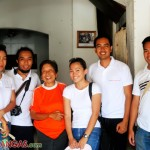 the wowteam + the aunt of ogie alcasid