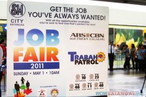 SM City Batangas Job Fair