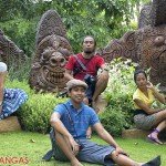 WOWBatangas Team with the Balinese statues