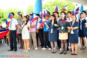 SM City Batangas Flag Raising Ceremony - Philippine Independence Day Celebration