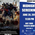Transformers 3 midnight screening at SM City Lipa