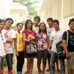 Reinier, Joel, Jackie, Dyan, Orvil and Jose (at the back), Baby, Paul, Aris