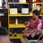 Kenly and mom in an interview with WOWBatangas