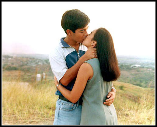 Rico Yan and Claudine Barretto