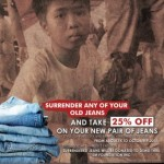 SM Foundation&#039;s Surrender Your Jeans Campaign