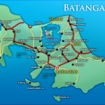 tagline of Batangas towns and cities