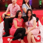 SM City Lipa&#039;s Sir Levi, Ms. Kristy Vilela, Ms. Lizel Viray, and Ms. Wendy Bautista