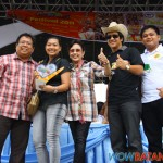 Mayor Nas, representative of Agoncillo contingent, Gov. Vi, Vice Gov. Mark, SK Pres. Mark Laurence