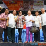 Mayor Nas, Mayor Renato Manalo of San Juan, Gov. Vi and the representatives of San Juan
