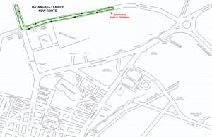 New Transportation Route in Batangas City (2012) Batangas - Lemery