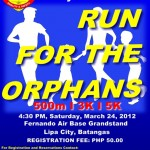 440th AMG Run for the Orphans 2012 - Fernando Air Base Lipa City