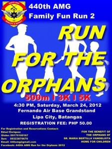 440th AMG Run for the Orphans 2012 - Fernando Air Base Lipa City