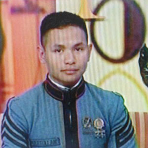 Tom Puertollano of Lipa City, Batangas tops PMA Bagwis Class of 2012