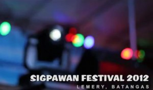 Sigpawan Festival 2012 - Lemery - Video