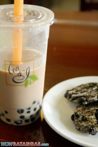 Tea and I Wintermelon and Oreo cookies