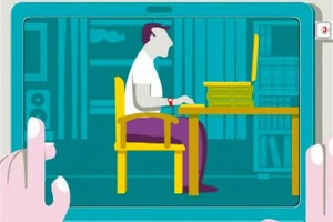 Tips on preventing body pain and eye strain while working on the computer