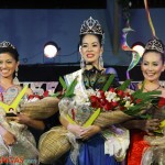 2nd runner up Ms. Alizia Anne Ng,  Miss Lipa Tourism 2012 Therese Fleur Ostil and 1st Runner Up Ansherina Therese Rivera