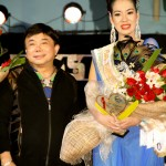 Mayor Maynard Sabili and Miss Lipa Tourism 2012 Therese Fleur Ostil