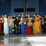 Mayor Maynard Sabili and the twelve Miss Lipa Tourism Candidates