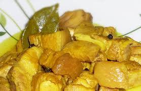 adobo sa dilaw | Batangas dishes