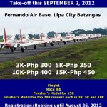 AETC Runway Run - Lipa City, Batangas