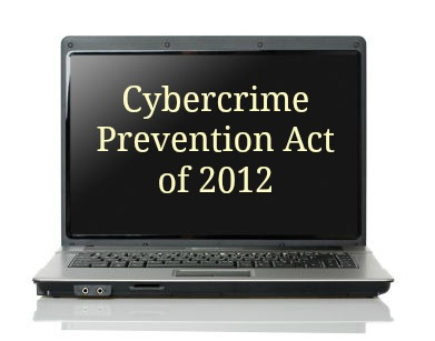 Cybercrime Prevention Act of 2012 - Philippines