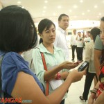 dyan interviewing Robinsons Land Manager