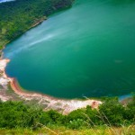 Earth Day 1 - taal volcano crater