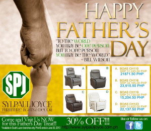 Sylpauljoyce Father's Day Promo