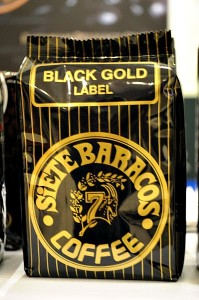 Siete Baracos Coffee - Blackgold Blend - Batangas Coffee