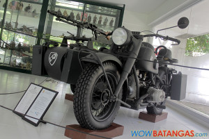 Casa Corazon - BMW Motorcycle Collection - R75 1941 WWII German Army Motorcycle
