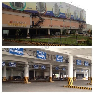 Southwest Integrated Bus Terminal - Batangas buses