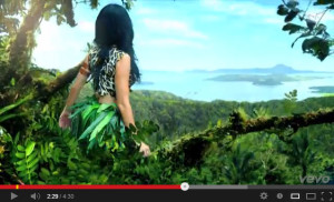 Katy Perry - Roar Music Video Featuring Taal Lake and Taal Volcano