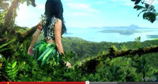 Taal Lake and Volcano Featured in Katy Perry's ROAR Music Video (Youtube)
