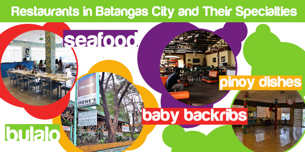 Restaurants in Batangas City and Their Specialties