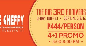 Uncle Cheffy 3rd Year Anniversary Buffet