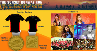 The Sunset Runway Run