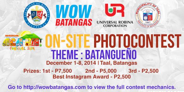 On-Site Photo Contest Mechanics – Ala Eh! Festival 2014