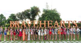 Ms. EARTH 2014_Bravehearts