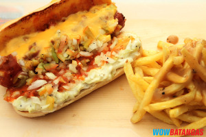 Texas Chili Cheese Dog