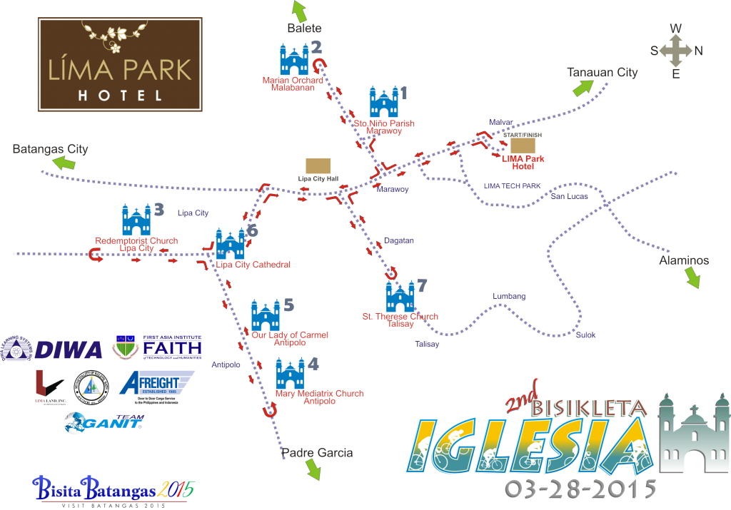 LPH_BI 2015_Route Map
